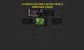 EVIDENCIAS EDUCACIÓN FÍSICA JORNADA TARDE