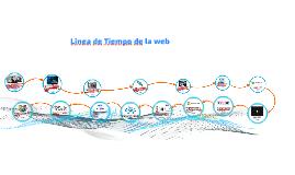 Linea de tiempo de la web