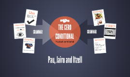 THE CERO CONDITIONAL