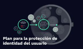 plan para la proteccion de identidad del usuario