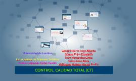 CONTROL, CALIDAD TOTAL (CT)