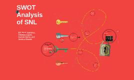 SWOT Analysis of SNL
