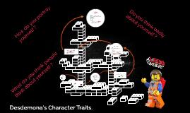 desdemona character traits