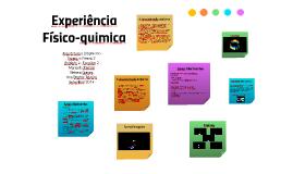 Copy of Experiência Físico-quimica