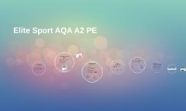 Elite Sport AQA A2 PE