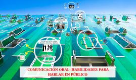 Copy of  COMUNICACIÓN ORAL: HABILIDADES PARA HABLAR EN PÚBLICO