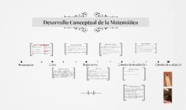 Desarrollo Conceptual de la Matematica