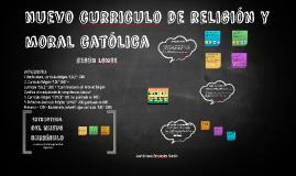 Nuevo curriculo de Religión católica (LOMCE)