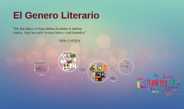 El Genero Literario