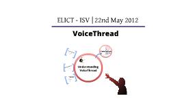 VoiceThread - ISV 22/5/12