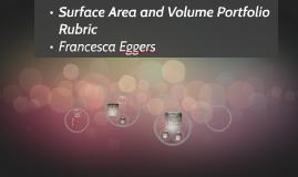 Surface Area and Volume Portfolio Rubric