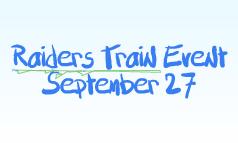 Raiders Train Event September 27
