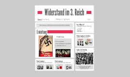 Widerstand im 3. Reich