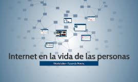 Internet en la vida de las personas