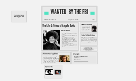 WANTED BY THE FBI