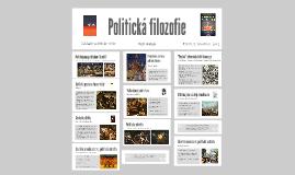 Politická filozofie