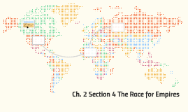 Ch. 2 Section 4 The Race for Empires