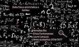 Dalla fisica aristotelica a Galileo