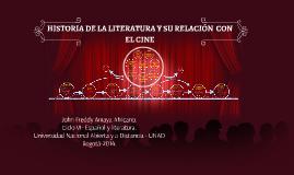 Copy of HISTORIA DE LA LITERATURA
