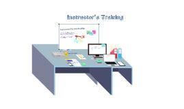 Copy of Instructor Training