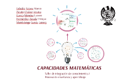 Copy of CAPACIDADES MATEMÁTICAS