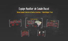Copy of Equipe Auxiliar de Saúde Bucal
