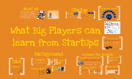 Scaling Scrum: What Big Players can learn from StartUps
