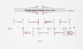 Programma Storia 2014-2015