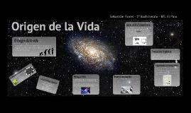 Origen de la vida - Ciencias para el mundo contemporáneo