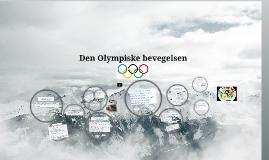 Den Olympiske bevegelsen