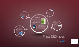 Triple DES (3des)