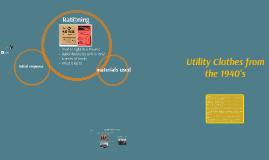 Utility Clothes