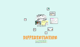 PGCE: Differentiation