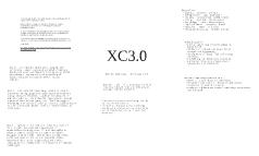 XC3.0
