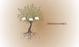 ORDENACIONES