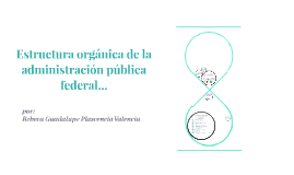 Copy of Estructura organica de la administracion publica federal