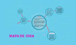 MAPA DE  IDEA