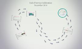 End of Service Celebration