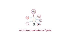 Los sectores económicos en España
