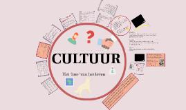 Cultuur, hoofdstuk 1