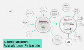Macroentorno y Microentorno