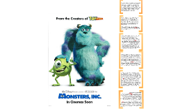 Copy of Monsters Inc. Movie Poster Analysis