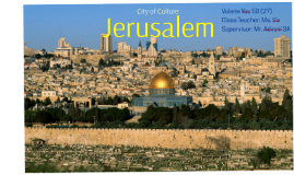 an introduction to the history and the culture of jerusalem Introduction to ancient rome introduction to ancient roman art the spoils of jerusalem being brought into rome an introduction jewish history.