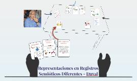 Representaciones en registros semioticos Duval