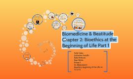 Biomedicine & Beatitude