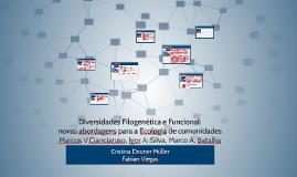 Diversidades Filogenética e Funcional: