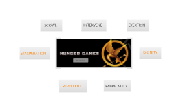 Hunger Games Vocabulary Chapters 24-27