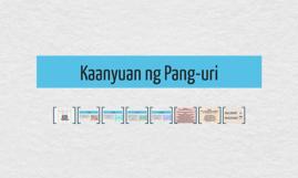 Copy of Kaanyuan ng Pang-uri