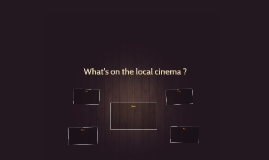What's on the local cinema