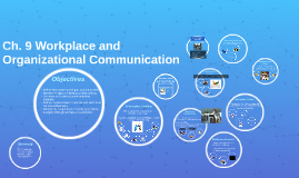 Ch. 9 Workplace and Organizational Communication